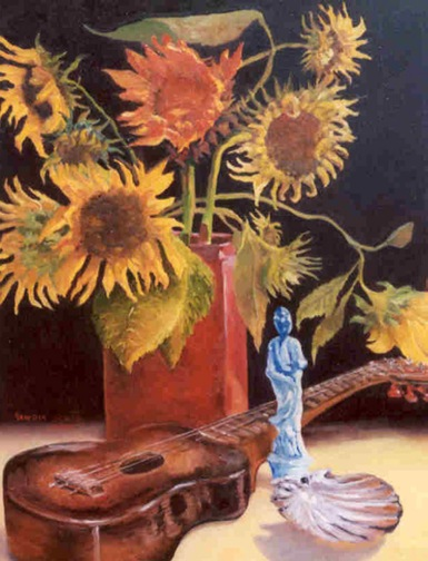 Squire 2 Music-to-My-Eyes-24-x-18-Oil-by-Artist-Beverly-Squire