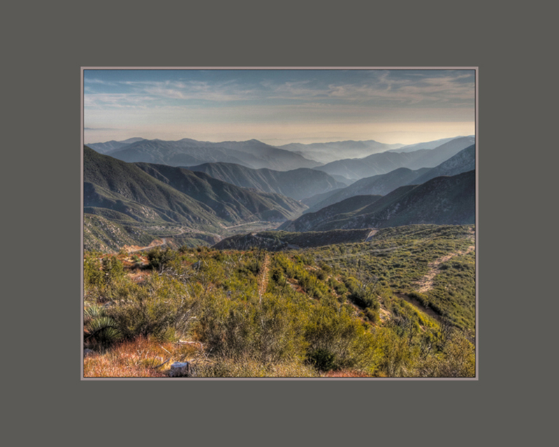 San Gabriel Mountains yenofsky